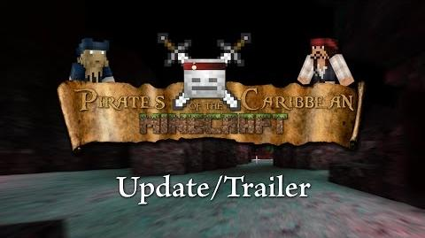 Pirates of the Caribbean Online Minecraft - Update Trailer