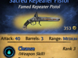 Sacred Repeater Pistol