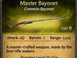 Master Bayonet