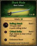 Shark Blade Card