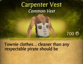Carpenter Vest
