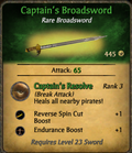 Captain's Broadsword