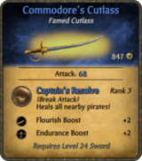 Commodore's Cutlass