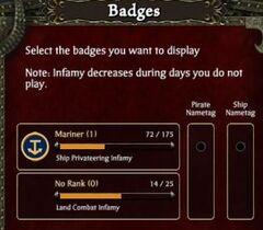 Badge GUI