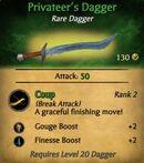 Privateer's Dagger