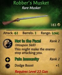 Robber's Musket
