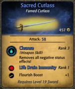 Sacred Cutlass
