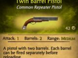 Twin Barrel Pistol
