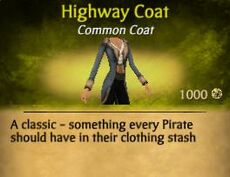 F Highway Coat