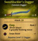 Swashbuckler's Dagger