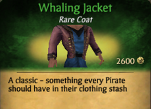 Whaling Jacket - clearer