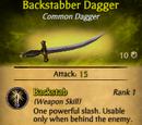 Backstabber Dagger