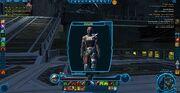 Black Red Mandalorian Armor