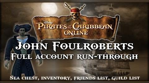 Pirates of the Caribbean Online- Documentary of John Foulroberts