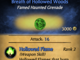 Breath of Hollowed Woods