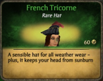 French Tricorne