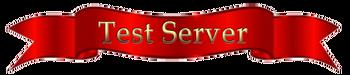Banner test server