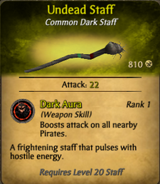 Undead Staff clearer