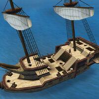 Light frigate deck