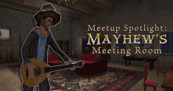 Spotlight Mayhew's Meeting Room