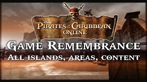 Pirates of the Caribbean Online- Game Remembrance (FULL island tours and content)
