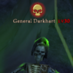 The most powerful General, Dark Hart, awaits the order to attack Padres Del Fuego.