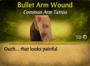 BulletArmWound