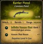 Rattler Pistol