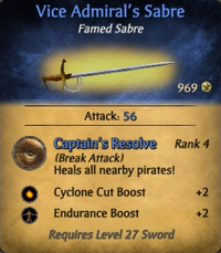Vice Admiral's Sabre - clearer