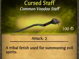 Cursed Staff