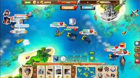 Pirates Saga WAR! GUERRA!