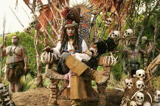 Jack Sparrow capo tribù