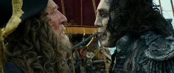 Barbossa e Salazar sulla QAR