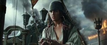 Giovane Jack Sparrow (DMTNT)