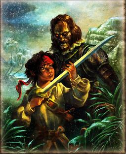 Jack Sparrow e H. Cortés