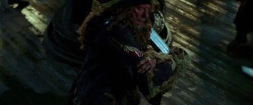 Barbossa ferito