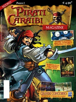Pirati dei Caraibi Magazine