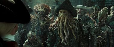 Davy Jones si confronta con Beckett