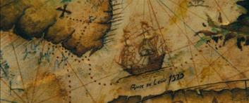 Santiago mappa di Mao Kun