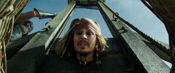 Jack Sparrow ghigliottina
