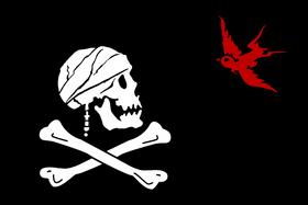 Sparrow flag