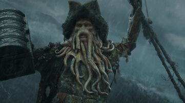 Davy Jones con forziere