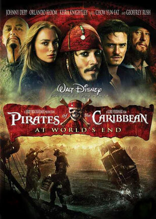 Pirates of the Caribbean 3 Poster