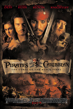 Pirates of the Caribbean- The Curse of the Black Pearl Theatrical Poster-0