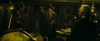 Will Jones Beckett sulla Endeavour
