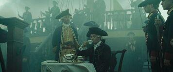 Beckett beve il tè