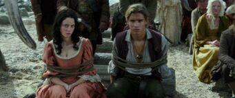 Carina e Henry al matrimonio di Jack