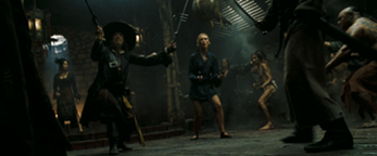 350px-Barbossa and Elizabeth facing the Chinese