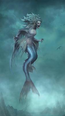 Tides of War mermaid