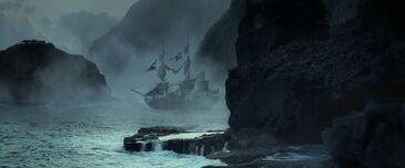Perla Nera a Isla de Muerta